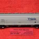 20005529 Atlas HO scale Thiele Kaolin ACF 4650 Centerflow Hopper Car