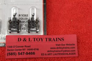 22071 Atlas N scale 100 ton roller bearing trucks
