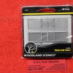 2983 Woodland Scenics HO scale chain link fence