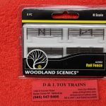 2992 Woodland Scenics N scale rail fence