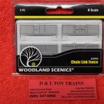 2993 Woodland Scenics N Scale chain link fence