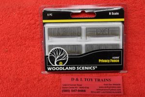 2995 Woodland Scenics N scale privacy fence