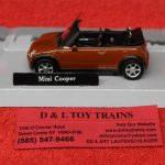 3009931 Atlas O Scale Mini Cooper Car