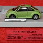 3009932 Atlas O scale Volkswagen Beetle car