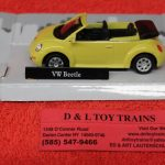 3009933 Atlas O scale Volkswagen Beetle car