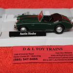 3009934 Atlas O scale Austin Healey car