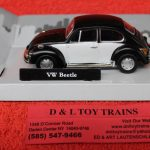 3009937 Atlas O scale Volkswagen beetle car