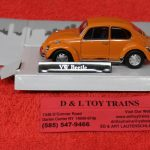 3009939 Atlas O scale Volkswagen Beetle car