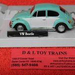 3009940 Atlas O scale Volkswagen Beetle car