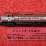 40003628 Atlas N Scale Wisconsin Southern GP38-2 diesel engine