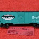 45791 Intermountain HO scale New York Central 1937 AAR 40' boxcar