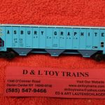 50004706 Atlas N Scale Union Tank Car Thrall 4750 covered hopper car