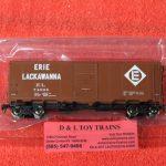 """45813 Intermountain HO Scale Erie Lackawanna 10'6"""" mod AAR boxcar"""