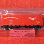"45828 Intermountain HO scale Gulf Mobile OHIO 10'6"" mod 1937 AAR boxcar"