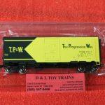 """45839 Intermountain HO scale Toledo Peoria Western 10'6"""" mod 1937 AAR boxcar"""