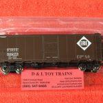 """45842 Intermountain HO scale Erie 10'6"""" mod 1937 AAR boxcar"""