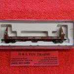 50004861 Atlas N Scale CSX pulpwood flat car