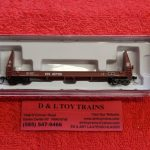 50004866 Atlas N Scale Kansas City Southern pulpwood flat car