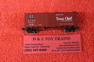 """65817 Intermountain N scale Santa Fe 10'6"""" mod. AAR boxcar"""