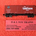 "65832 In termountain N scale Santa Fe 10'6"" mod. 1937 AAR boxcar"