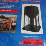 6916 Atlas O scale steel water tower kit