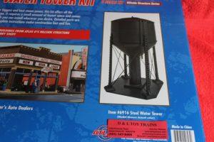 6916 Atlas O scale steel water tower kit