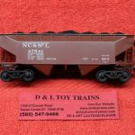 7522 Kadee HO Scale Nashville Chattanooga St. Louis 50 ton AAR 2 bay offset hopper car