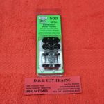 K500 Kadee HO scale 50 ton Bettendorf trucks