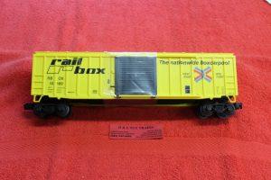 2043042 Lionel O scale Railbox 50' boxcar