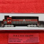 40004121 Atlas N scale Bangor Aroostook GP-38 diesel engine