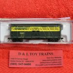 50004147 Atlas N Scale Chicago North Western 40' stock car