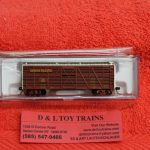 50004156 Atlas N scale Union Pacific 40' stock car