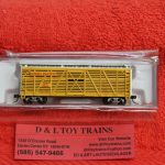 50004158 Atlas N scale 40' stock car