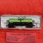 50004734 Atlas N scale Dow Chemical 11,000 gallon tank car