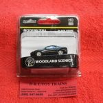 5360 Woodland Sceins HO scale Modern Era black coupe