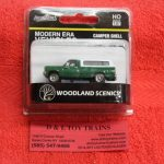 5364 Woodland Sceincs HO scale Modern Era green pickup with cap