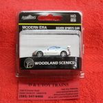 5368 Woodland Scenics HO scale modern era silver sports car