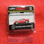 5369 Woodland Scenics HO scale modern era red sports coupe