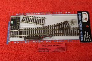 540 Atlas HO scale Code 83 Left hand remote switch