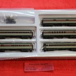 50005128 Atlas N scale Lackawanna 60' passenger car set