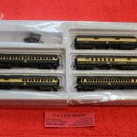 50005129 Atlas N scale Monon 60' passenger car set