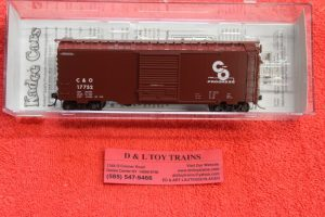 5022 Kadee HO scale Chesapeake Ohio 40' PS-1 boxcar