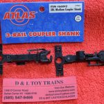 66042 Atlas O scale 3 rail medium coupler shank