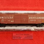 20005689 Atlas HO scale Western Maryland 60' Auto parts boxcar
