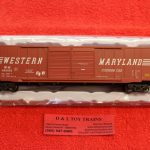 20005690 Atlas HO scale Western Maryland 60' auto parts boxcar