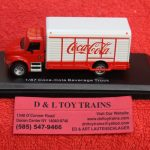 25000032 Atlas HO scale Coca Cola delivery truck
