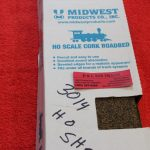 30142 Mid West Proudcts HO scale sheets cork roadbed