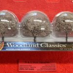 "3594 Woodland Scenics HO and O scale 1 3/4""-2 1/4"" cherry blossom trees"