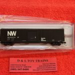 50004963 Atlas N scale Norfolk Western 60' ACF auto parts boxcar