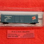 50004971 Atlas N scale Detroit Toledo Shoreline 60' ACF auto parts boxcar
